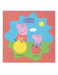 20 tovagliolini di Peppa Pig™