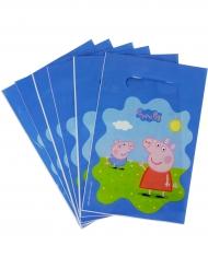 6 Sacchetti per caramelle Peppa Pig™