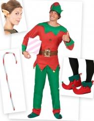 Set costume da elfo per uomo