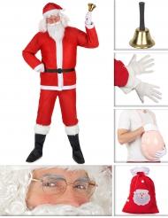 Set Costume da Babbo Natale Classico