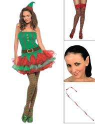 Set Costume elfo sexy per donna