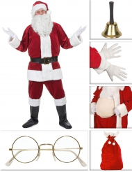 Set Costume da Babbo Natale Deluxe