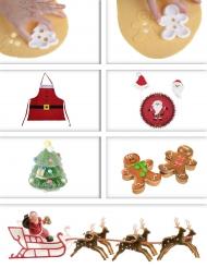 Set pasticceria di Natale
