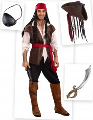 Set Costume da Pirata per uomo