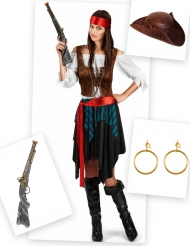 Set Costume pirata per donna