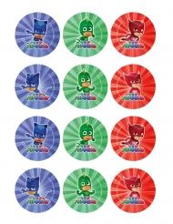 10 Decorazioni in zucchero per biscotti Super Pigiamini™