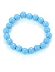 Braccialetto con perle blu per adulto