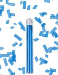 Sparacoriandoli con coriandoli azzurri
