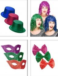 Set accessori colorati