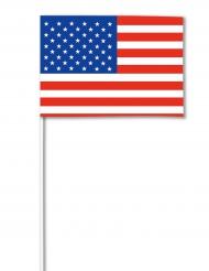 Bandierina di carta USA 14 x 21
