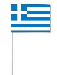 Bandierina di carta Grecia 14 x21