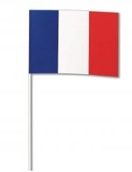 Bandiera di carta Francia 14 x 21