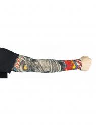 Manica con tatuaggi dragoni per adulti