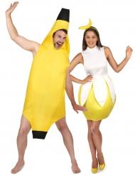 Costume coppia di banana per adulti
