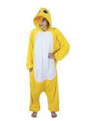 Costume tuta da canarino per adulto
