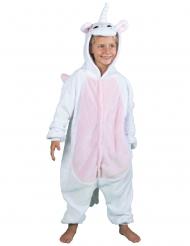 Costume da unicorno bianco per bambino