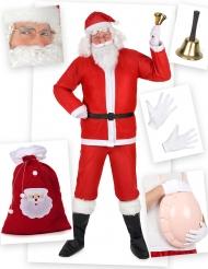 Set Costume Babbo Natale Classico