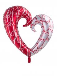 Palloncino in alluminio cuore