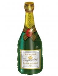 Bottiglia champagne in alluminio 94 cm