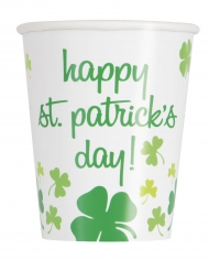 8 Bicchieri Happy St Patrick