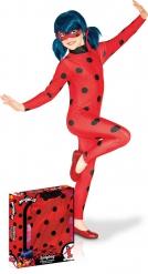 Costume classico Miraculous Lady Bug™ cofanetto bambina