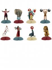 8 Mini Centro tavola Circo Vintage