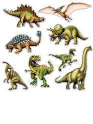 8 Ritagli a dinosauro in cartone