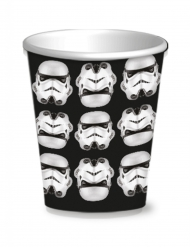 8 bicchieri di carta Stormtrooper™ Star Wars™