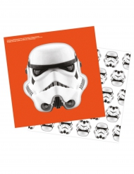 Image of 16 tovaglioli Stormtroopers™ Star Wars™