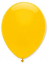 6 palloncini gialli 30 cm