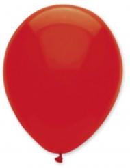 6 palloncini rosso rubino 30 cm