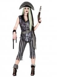 Costume da pirata fantasma errante per donna