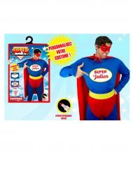 Costume personalizzabile super eroe