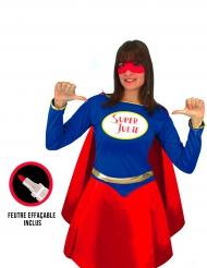 Costume personalizzabile super eroina