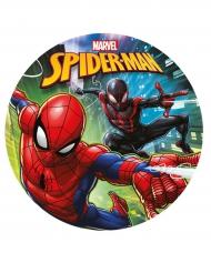 Disco in zucchero Spiderman™ 20 cm