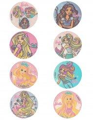 16 mini-dischi in pasta di zucchero Barbie™