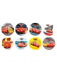 16 Mini dischi di zucchero Cars 3™ 3,4 cm