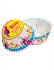50 Stampini per cupcake Trolls™ 5 cm