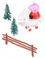 Kit decorazione per torta Peppa Pig™ 9 cm