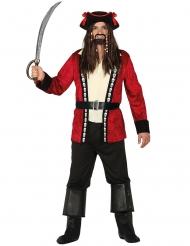 Costume capitan teschio dei pirati per uomo
