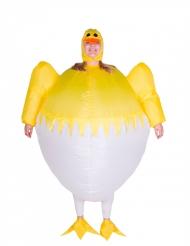 Costume gonfiabile da pulcino per adulto