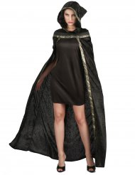 Mantello da strega nero per donna