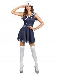 Costume marinaio blu navy per donna
