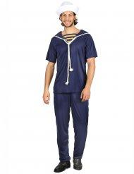 Costume da marinaio in blu per uomo