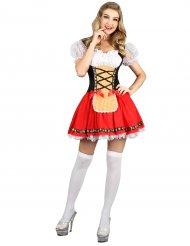Costume da Bavarese con minigonna per donna