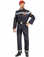 Costume da pompiere per uomo