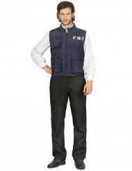 Costume gilet da agente FBI per uomo