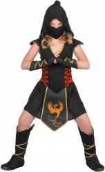 Costume da ninja per bambina