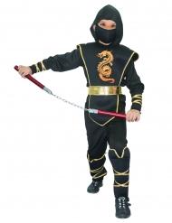 Costume da ninja drago dorato per bambino
