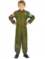Costume da pilota di caccia per bambino